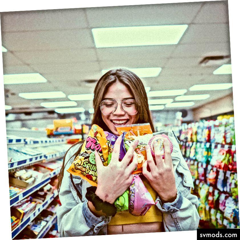 Die sehr emotionale Geschichte des Essens in Amerika. (Foto von frankie cordoba.)