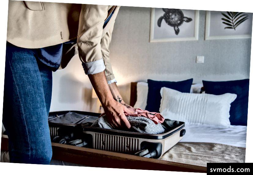 Mi lenne, ha költözne egy új lakásba bútorok és csak bőrönd nélkül?