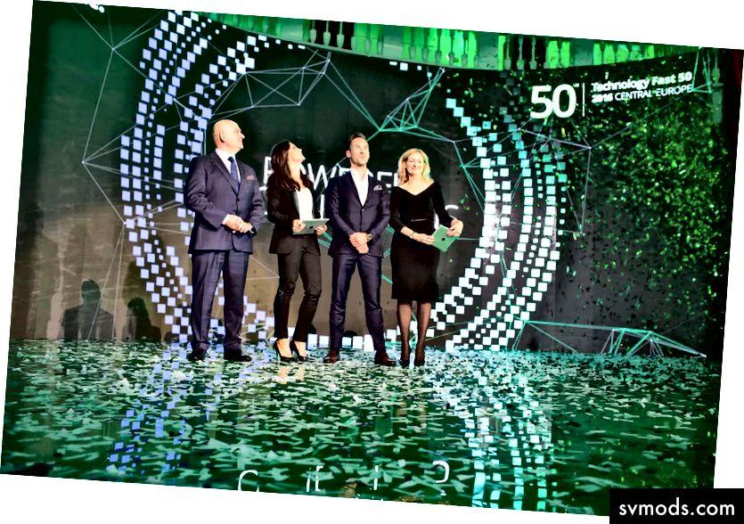 Die Deloitte Fast 50 Central Europe Preisverleihung