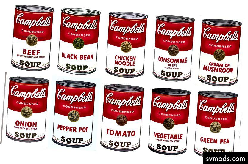 Andy Warhol 'Kaleng Sup Campbell' 1962
