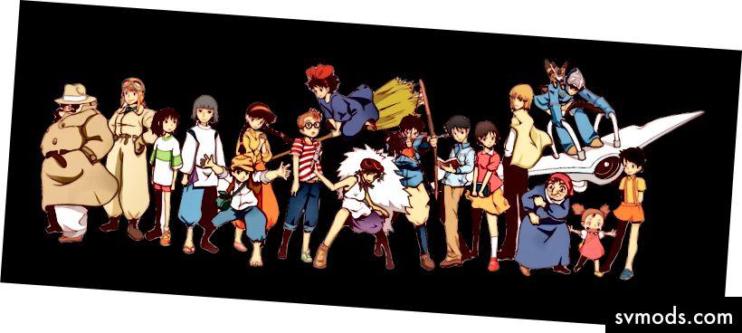 Team Ghibli - Studio Ghibli oleh D Kaufman