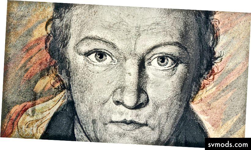 Edmeads & Pine 'Potret William Blake' 1802