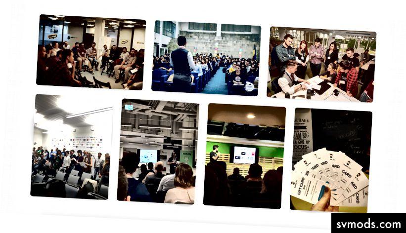 Beberapa foto dari acara yang disponsori oleh kami dan sesi pelatihan