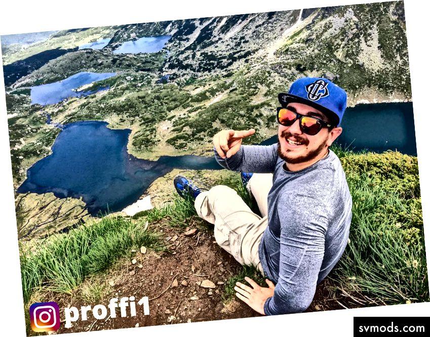 Én egy hegyen :)