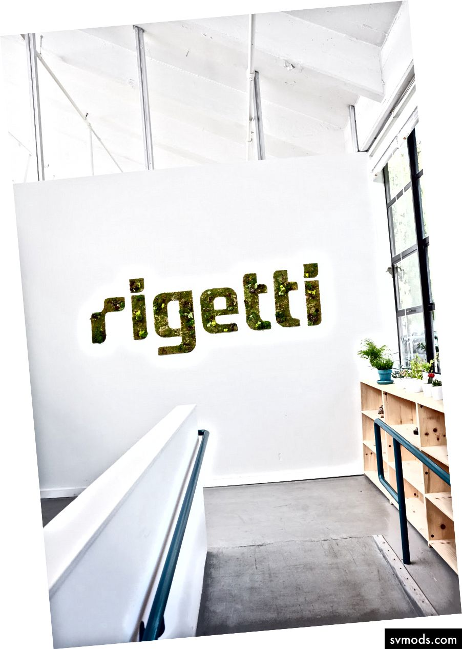 A Rigetti Computing központja Berkeley-ben, Kalifornia