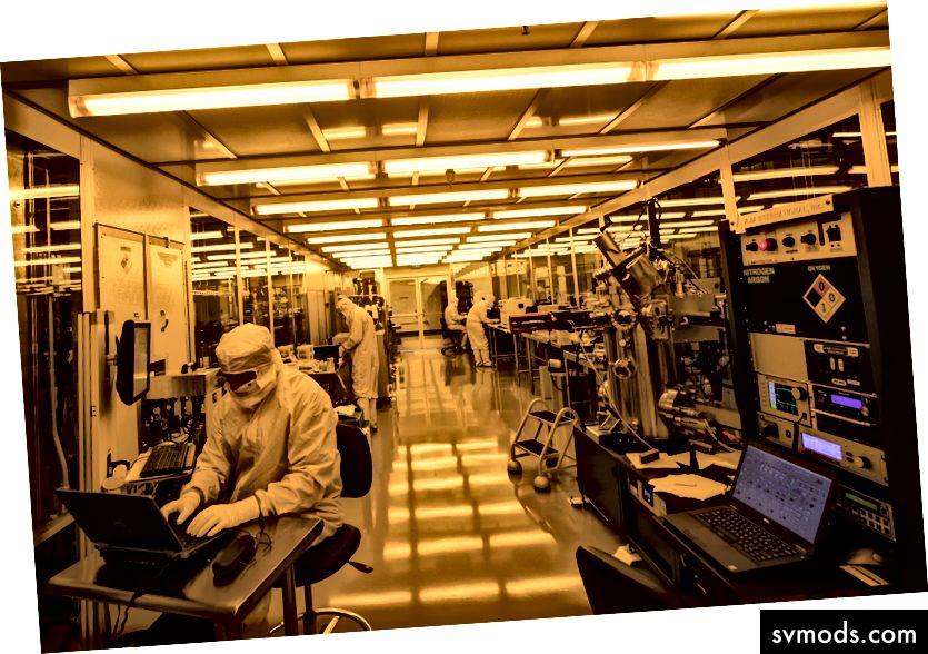 A Rigetti Computing Fab-1, a világ első kereskedelmi kvantum chip fab.