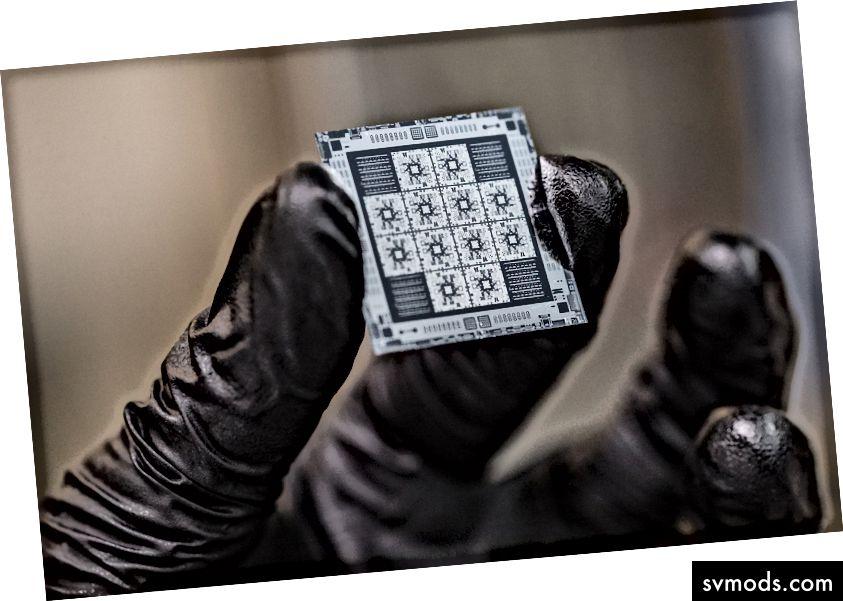 8-bites kvantum processzorok, amelyeket a Rigetti Computing gyárt.