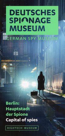 Német Spy Museum brosúra.