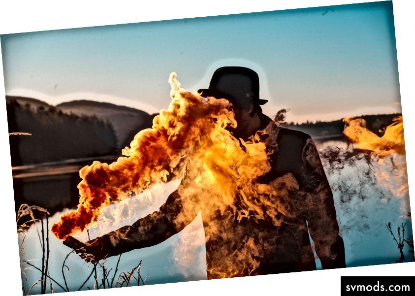 FEUER! Foto von Thomas Bjornstad auf Unsplash