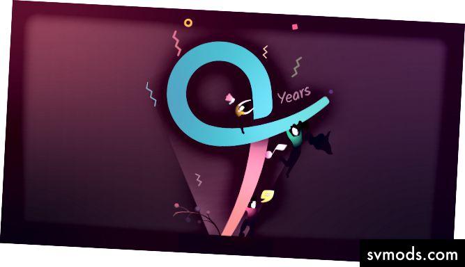 Logo của Quovantis đã biến thành chữ số 9.