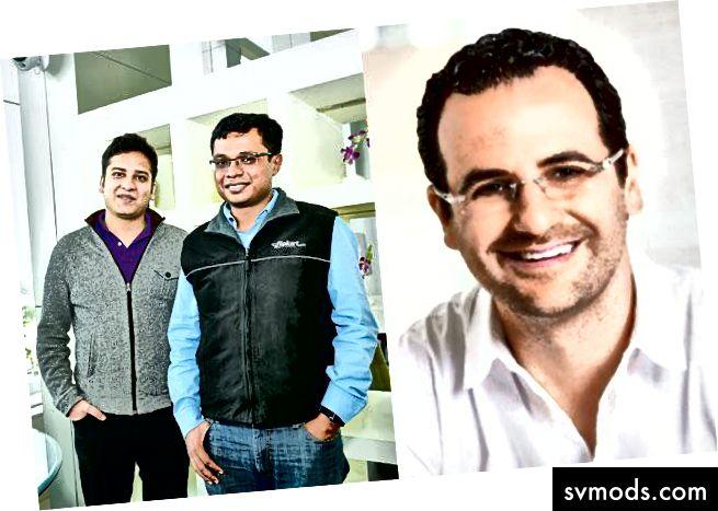 Sachin, Binny und Lee Fixel-Tiger Global