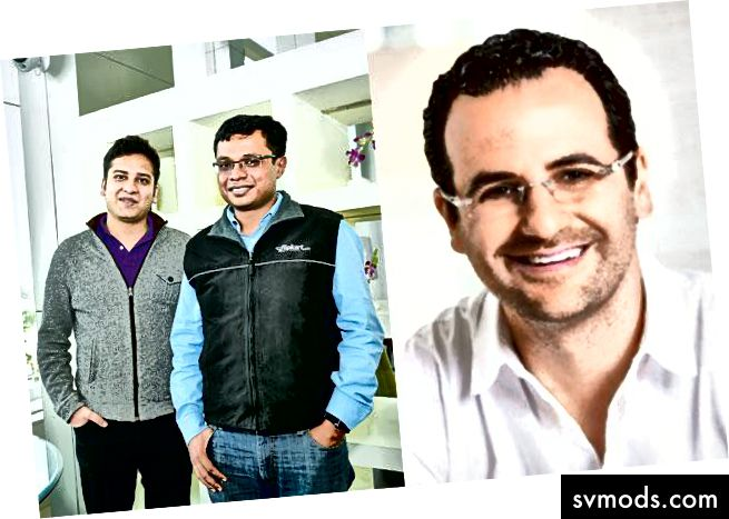 Sachin, Binny & Lee Fixel-Tiger Global