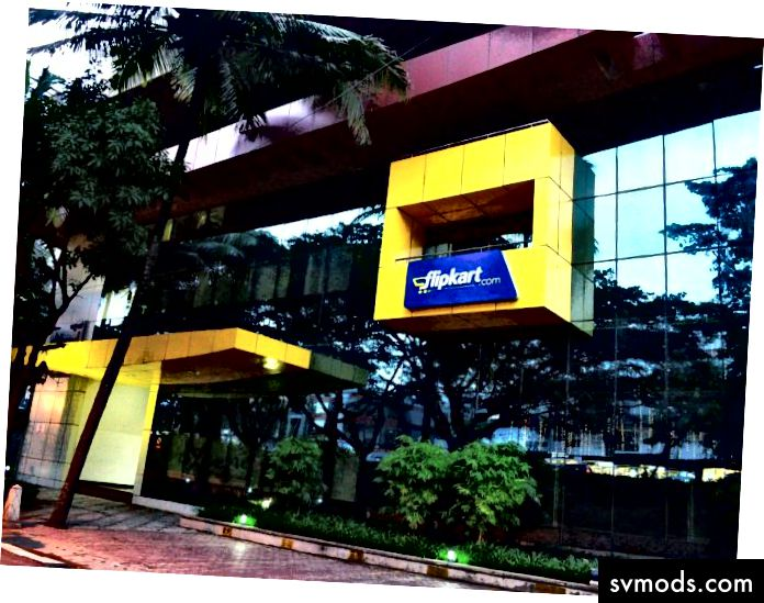 Офіс Flipkart - навпроти торгового центру Forum