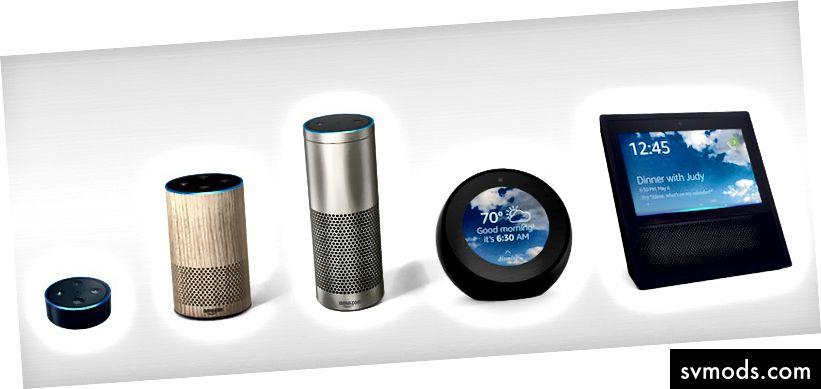 Gia đình Amazon Echo