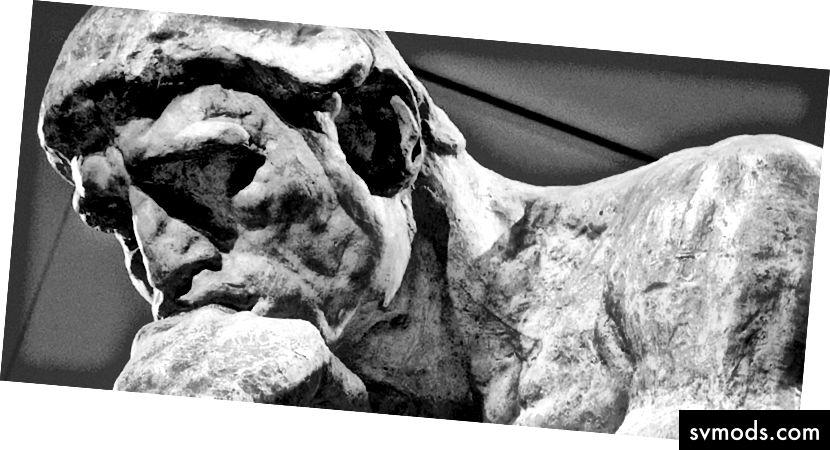 Le Penseur (der Denker), Auguste Rodin
