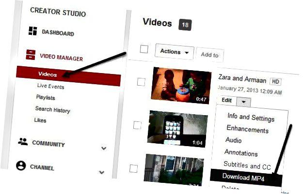 töltse le a YouTube videót