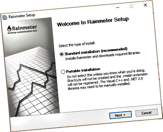 instal rainmeter