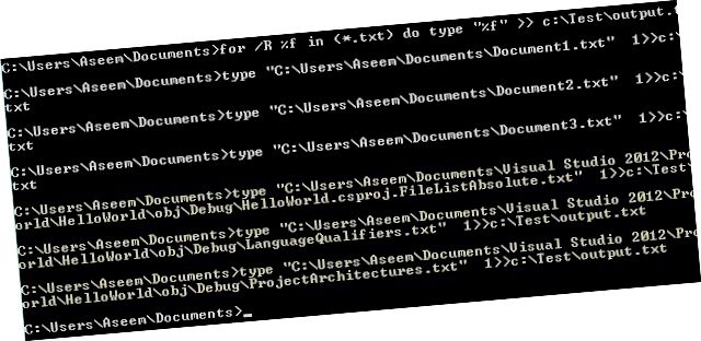 текст файлдарын бириктирүү