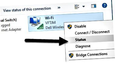 stádas wifi