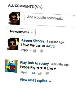 유튜브 댓글 시작