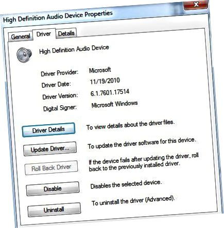 audio meghajtó