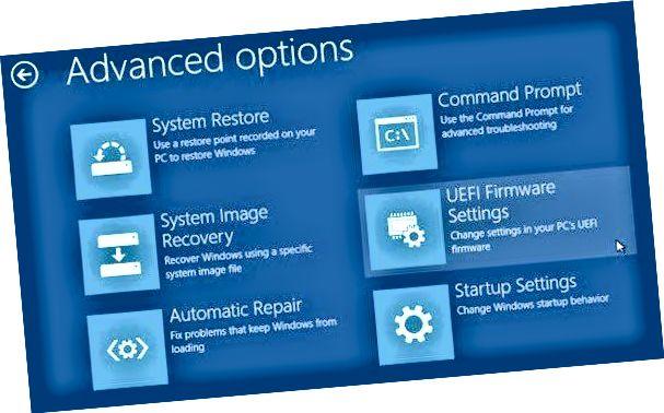 tetapan firmware uefi