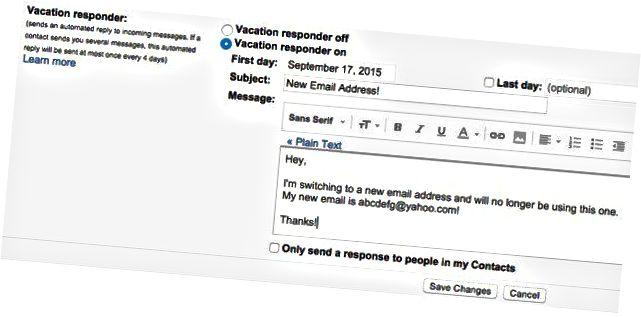 responden liburan gmail