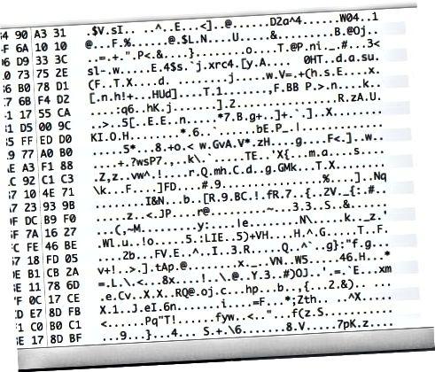 암호화 된 데이터