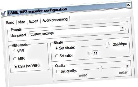 mga setting ng bakod ng encoder