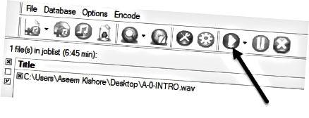 simulan ang pag-encode