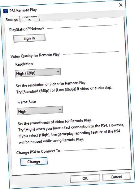 ps4 távoli lejátszási beállítások