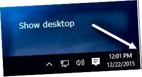 tampilkan tombol desktop