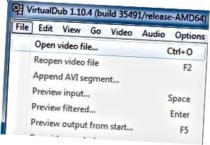 비디오 파일 열기