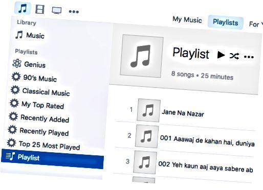 playlist shábháil