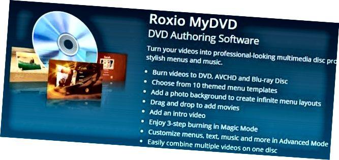 roxio mydvd