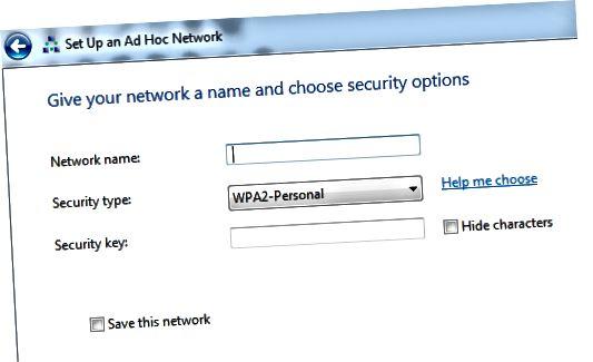 새로운 애드혹 네트워크
