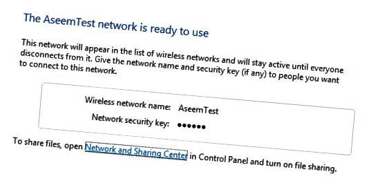 네트워크 설정