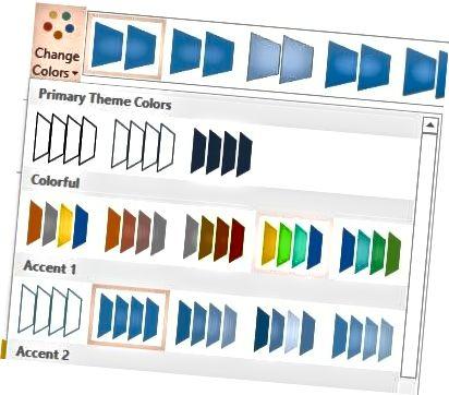 grafikus színek megváltoztatása