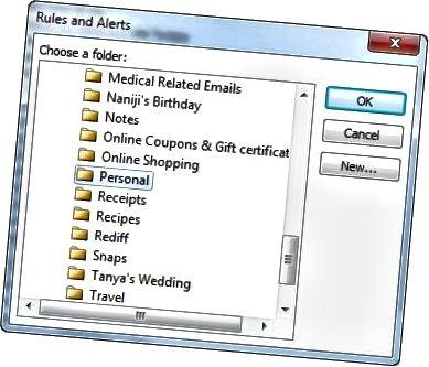 folder aturan dan peringatan