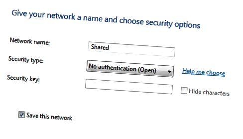 nyt ad hoc-netværk
