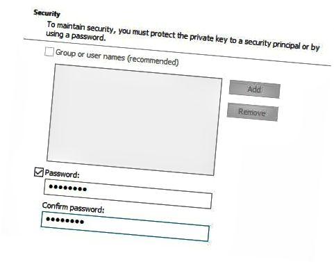 인증서 비밀번호