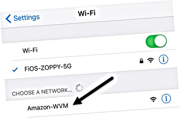 jaringan wifi alexa