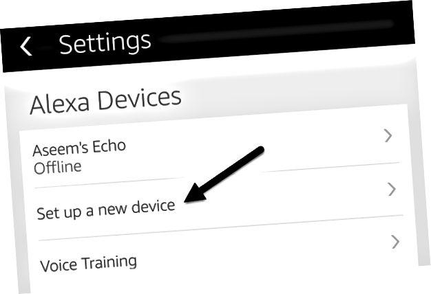 pengaturan aplikasi alexa