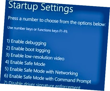 Windows 8 biztonságos mód