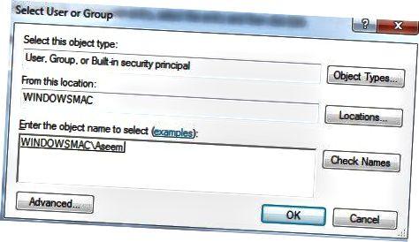 felhasználói engedélyek hozzáadása