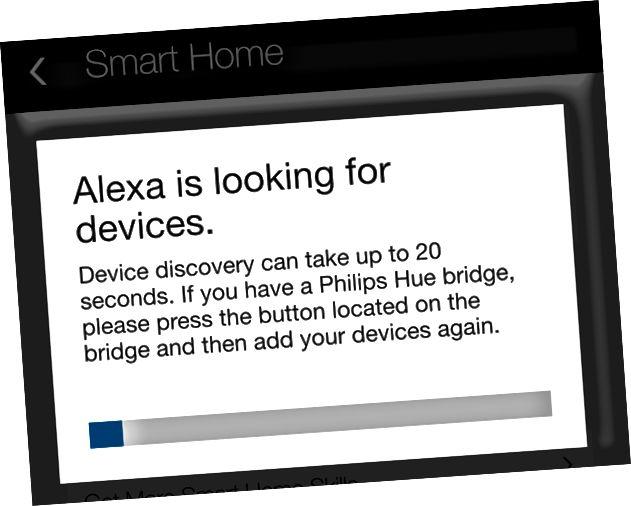 Alexa avastada seadmeid