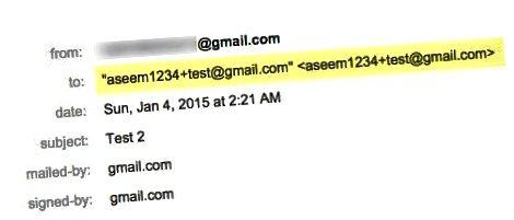 plús hakk Gmail
