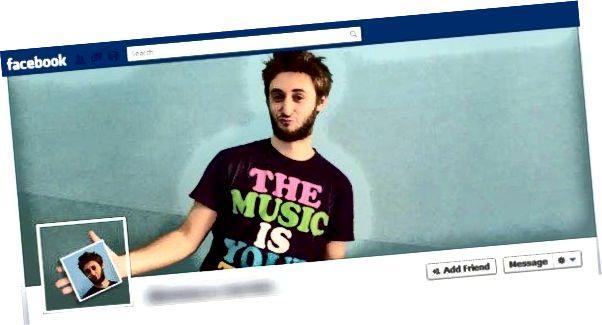 kreativ profilbillede