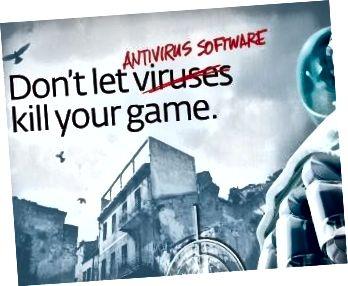 Antiviurs gaming