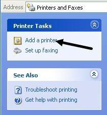 tilføj en printer